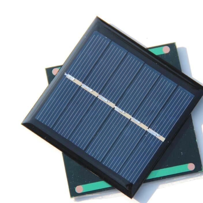 带定位的便携式线箱用1.3W5.5V磨砂太阳能板现货供应