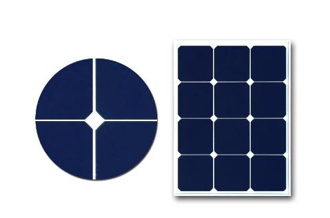 無人氣象站用玻璃層壓單晶太陽能板