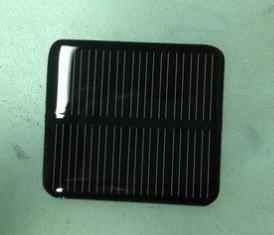 给汽车防监监控系统供电用玻璃层压单晶太阳能板