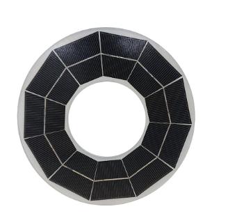 广播通讯寻呼电源系统用玻璃铝合金边框太阳能板CE认证